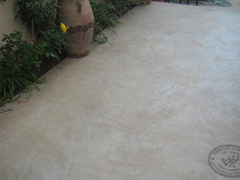רצפת בטון אקולוגית